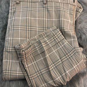Checkered/ plaid pants